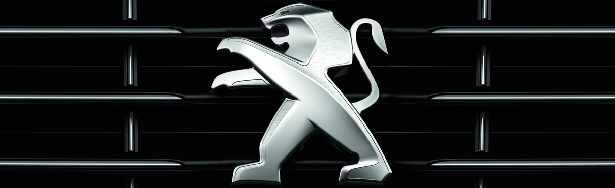 The Peugeot Lions – Matte and burnished alloy for the Lion beginning in 2010