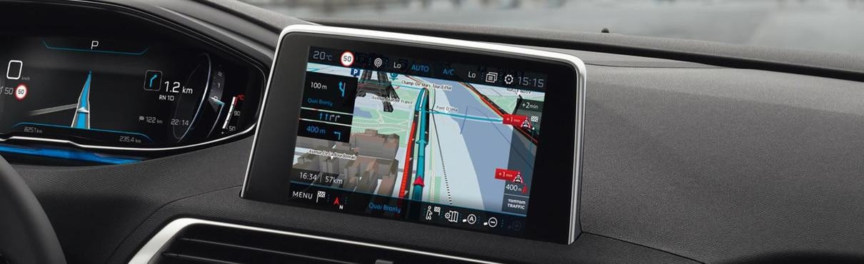Peugeot 3D connected Navigation